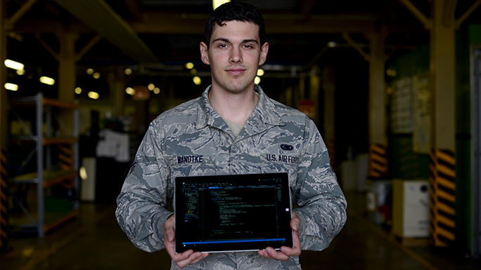 Airman creates program 'ESSential' to mission productivity