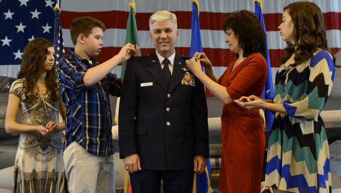 Seguin promoted to rank of major general