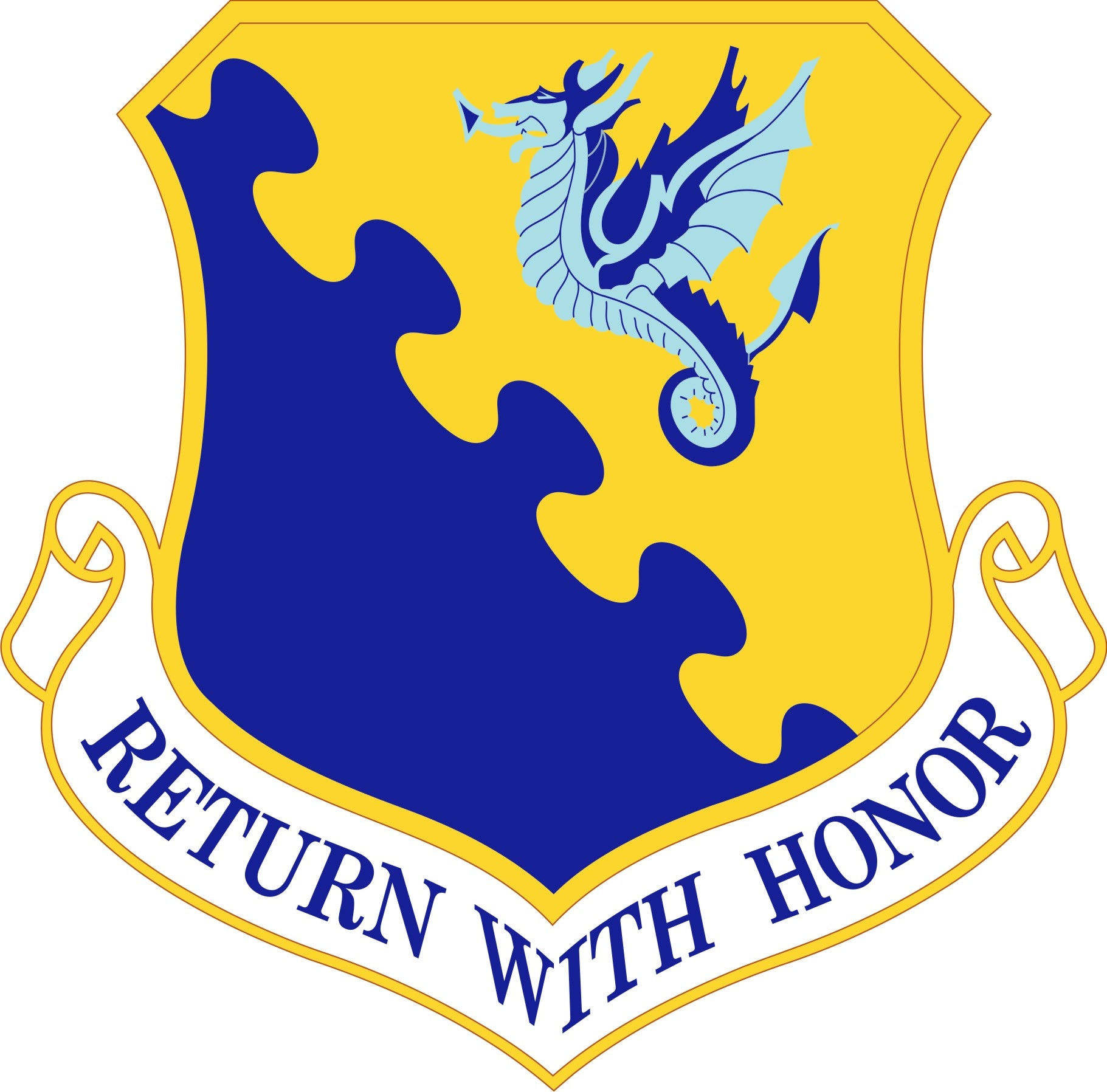 31st Fighter Wing Shield
