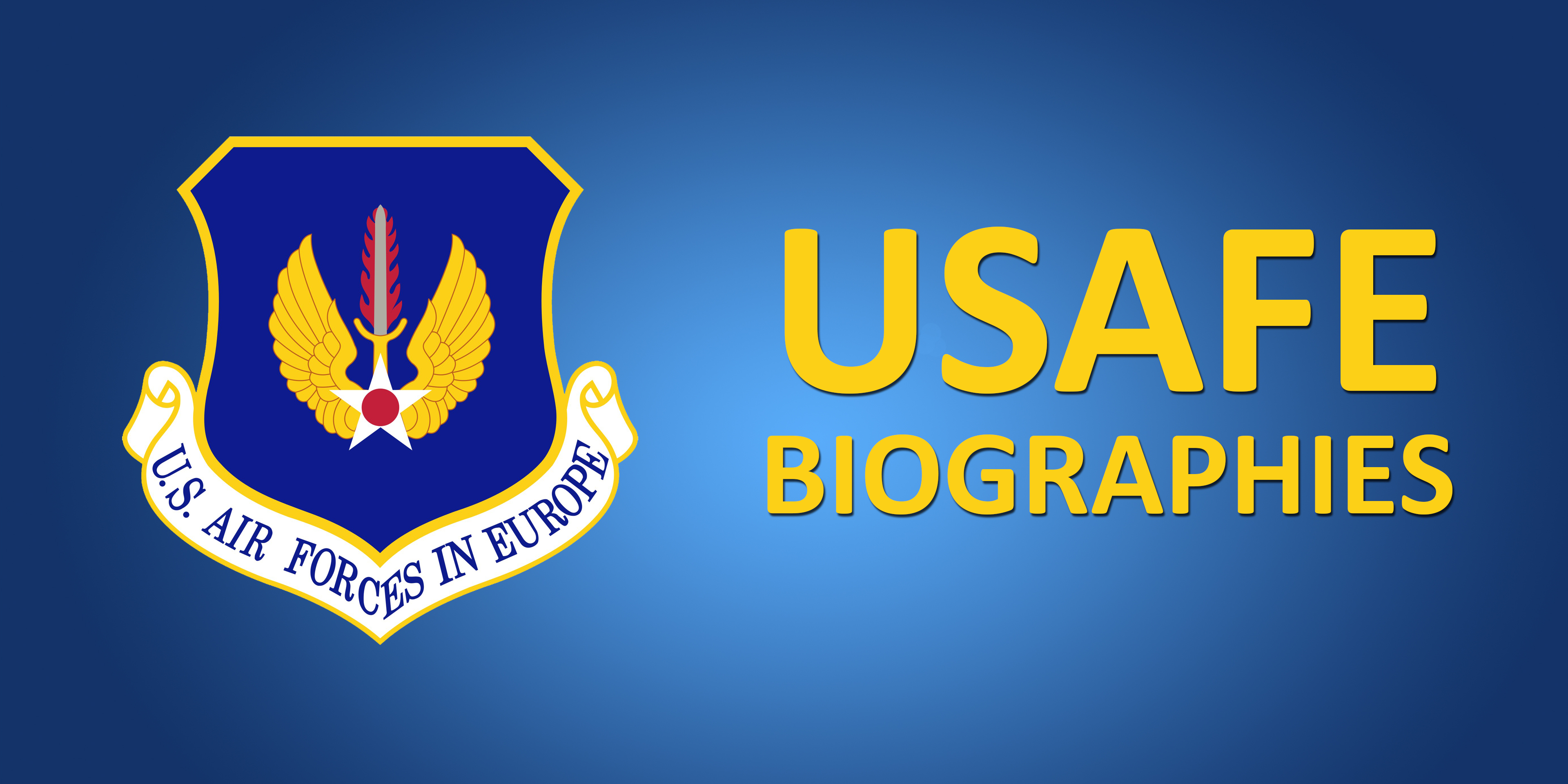 USAFE Biographies
